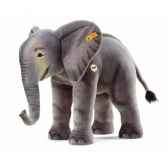 peluche steiff elephant studio gris 500725