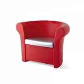 fauteuidesign kalla with cushion sd cal050