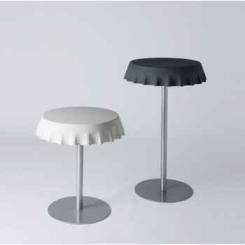 Table ronde haute - mange debout design fizzz high table LP FIZ110 With Light