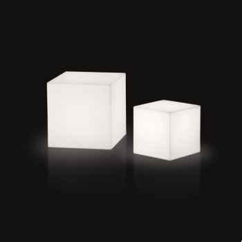 Lampe design design piantana cubo rouge lampe ip55 SD FCC130