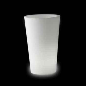 Pot design design x-pot lumineux LP XPT140