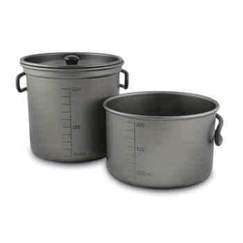 Casserole de camping aluminium BRUNTON -FVCOOKSET
