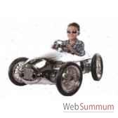 voiture en metaa pedales ferrari chrome retro ar 003