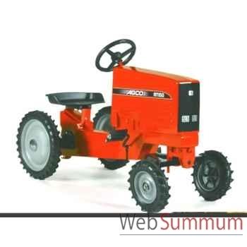 Tracteur à pédales en métal rouge agco rt 150 DD-001