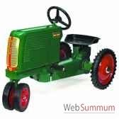tracteur a pedales en metarouge oliver rt 150 dd 002