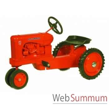 Tracteur à pédales en métal rouge allis chambers wd45 DD-003