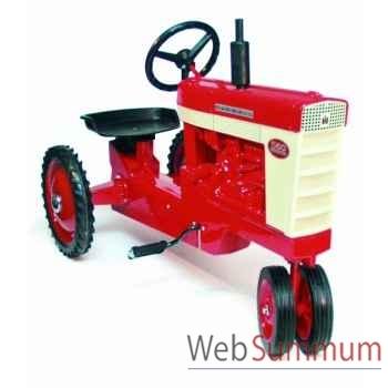 Tracteur à pédales en métal rouge farmall 560 DD-005
