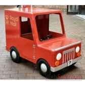 camion van a pedales poste grand modele postman pat licence exclusive lp 003