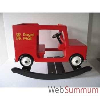 Camion van à bascule poste postman pat rouge Z101