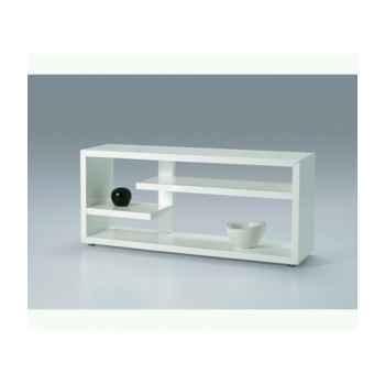 Les independants - meuble multifonction en mdf laqué blanc polyuréthane  BALI700