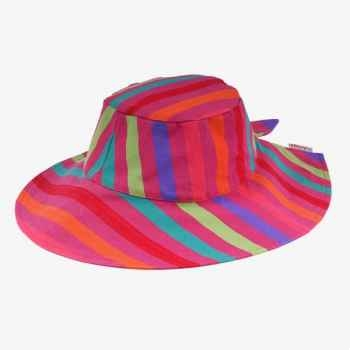 Chapeau capeline tissus Artiga toile Candresse