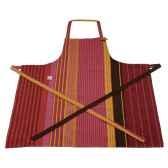 tablier reglable oeillet tissus artiga toile raisin dax
