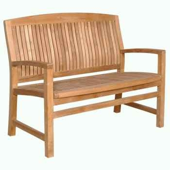 Banc brighton 120 cm en teck naturel 60-073