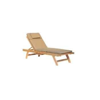Matelas bain de soleil taupe 62-610
