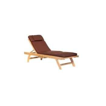 Matelas bain de soleil chocolat 62-617