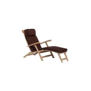 Matelas chaise longue chocolat 62-627