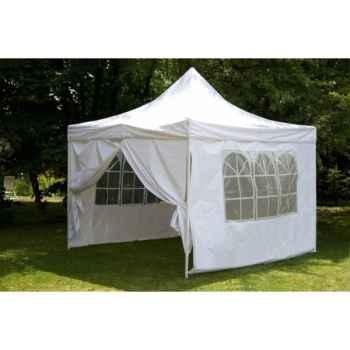 Tente pliante 3x3m en polypropylene blanc 84-800-2