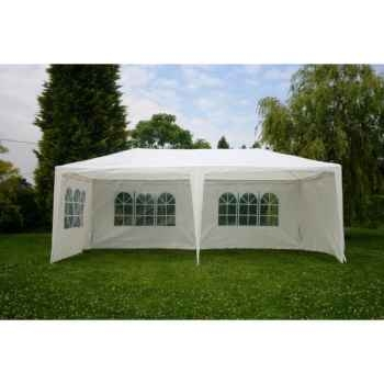 Tente extérieure 3 x 6 en polypropylene blanc 84-801