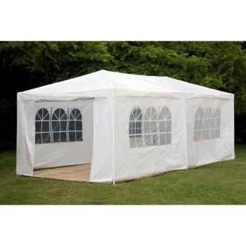 Tente extérieure 4 x 6 x 3 en polypropylene blanc 84-803-1