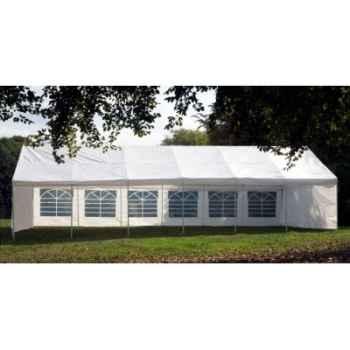 Tente extérieure 5x10 x3 en polypropylene blanc 84-804