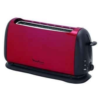 Moulinex grille-pain rouge inox - subito 3203