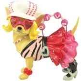 figurine chien pop diva chihuahua 13697