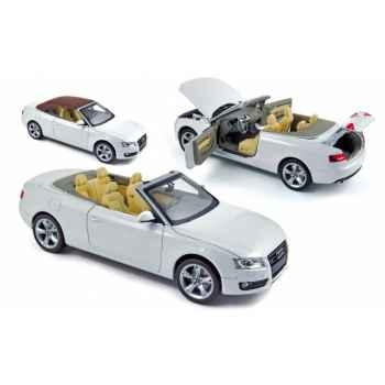 Audi a5 cabriolet 2009 - white  hq Norev 188351