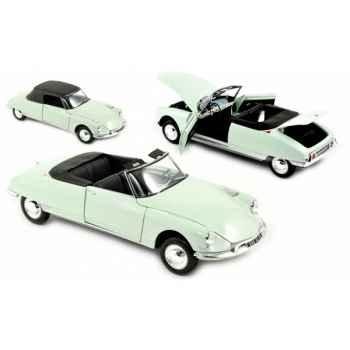 Citroen ds 19 cabriolet 1961 - carrare white  Norev 181562