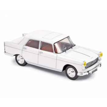 Peugeot 404 berline 1965 - white Norev 474438
