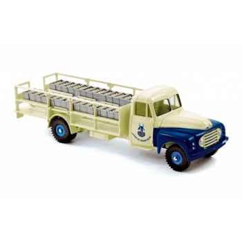 Camion laitier 55 citroËn - blue & beige - série limitée 1000ex Norev C80120