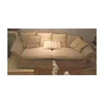 Canapé provenza en tissu 3 places - 7 coussins h 780 x 2200 x 1000 Arteinmotion DIV-PRO0073