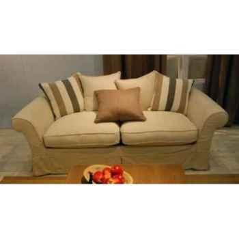 Canapé provenza en tissu 3 places - 5 coussins h 760 x 2130 x 920 Arteinmotion DIV-PRO0076