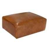 repose pieds tribeca en cuir couleur cognac h 440 x 950 x 720 arteinmotion pog tri0022