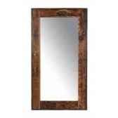 miroir rectangulaire en bois recycle h 2450 x 1350 x 50 arteinmotion com spe0093