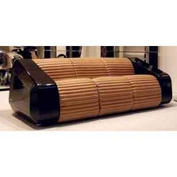 Canapé monocoque en cuir et fibre de carbone Arteinmotion CAR-DIV0009