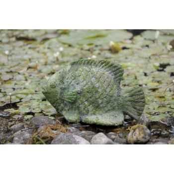 Old terra fish( sujet  poisson en terre cuite moussée) Intermas 180720