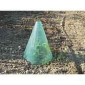 green starter 50 lot 3 cones pe vert intermas 160016