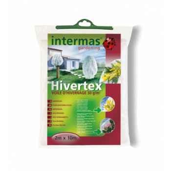 Hivertex (voile hivernage blc ) traité anti-uv 30g/m² Intermas 110025