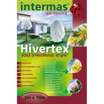 Hivertex (voile hivernage blc) traité anti-uv 30g/m² Intermas 110023