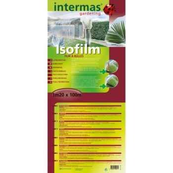 Isofilm (film à bulles diam 18mm) traité anti-uv  Intermas 110700