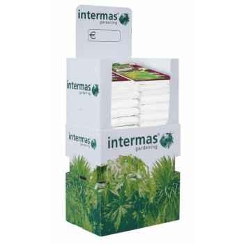 3 hiversacs couleur vert olive (housses d'hivernage) traité anti-uv 30g/m² Intermas 70034