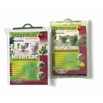 2 hiversac coloris vert extra 60g/m² (housse d'hivernage) traité anti-uv Intermas 110019