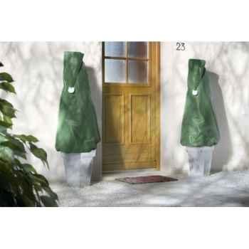 X-mas cover ( 2 housses ludiques  50gr/m² vert) Intermas 70039