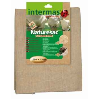 Lot de 2 naturesac + 10 ml de ficelle jute Intermas 110063