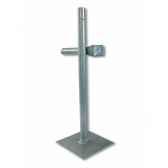 4 pieds platine tube 40mm intermas 160613