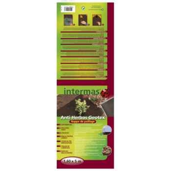 Anti herbas geotex marron (feutre de paillage) rlx Intermas 101435