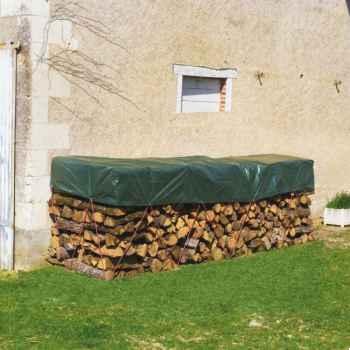 Protex wood (bâche tas de bois ) Intermas 70128