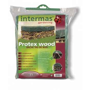 Protex wood  extra (bâche tas de bois 120g/m² ) Intermas 152042