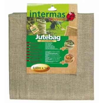 Jutebag (3 sacs déchets verts) Intermas 110064