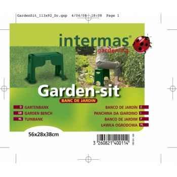 Garden sit(banc de jardin/agenouilloire) Intermas 140083